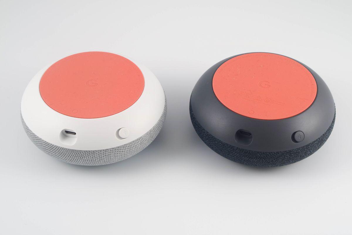 Google Home Mini 本体底