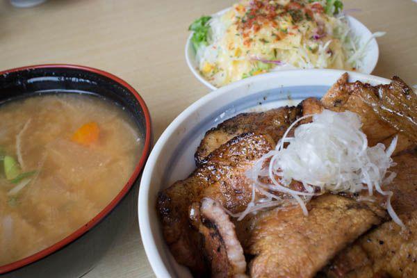 豚丼セット2