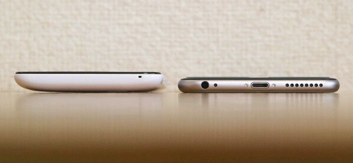 iPhone6Plus DG-W10M 厚さ
