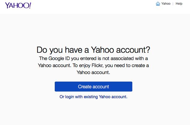 Googleアカウントは利用できない