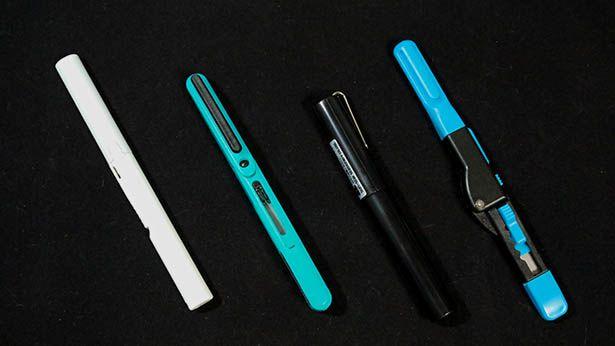 ペン型はさみ4種類