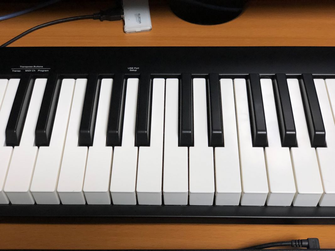 Impact GX61 鍵盤
