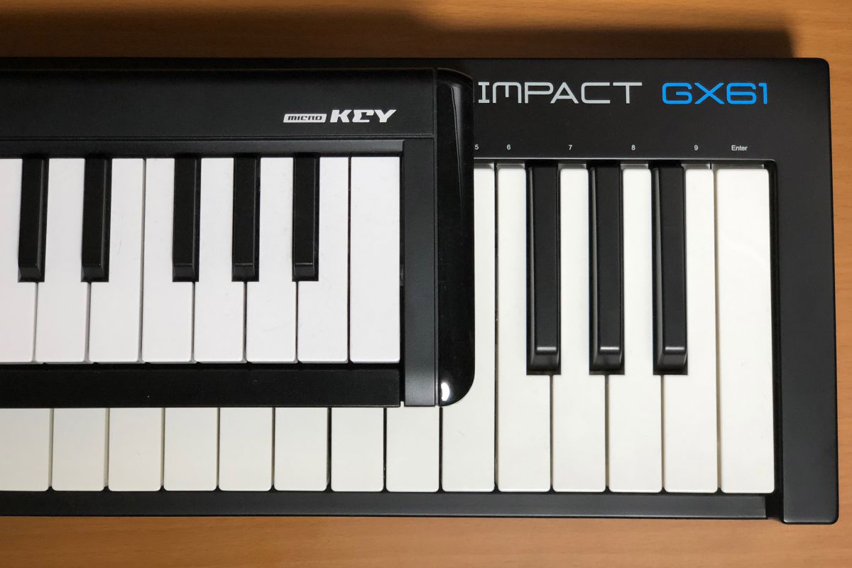 Impact GX61 鍵盤比較