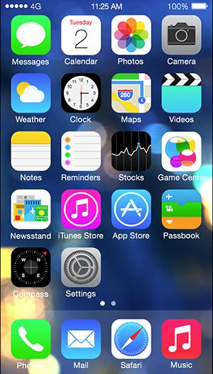 iPhone サンプル