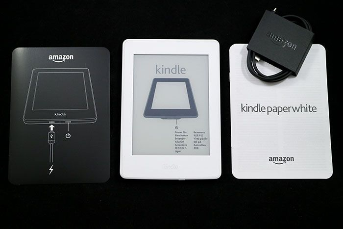 Kindle Paperwhite 中身