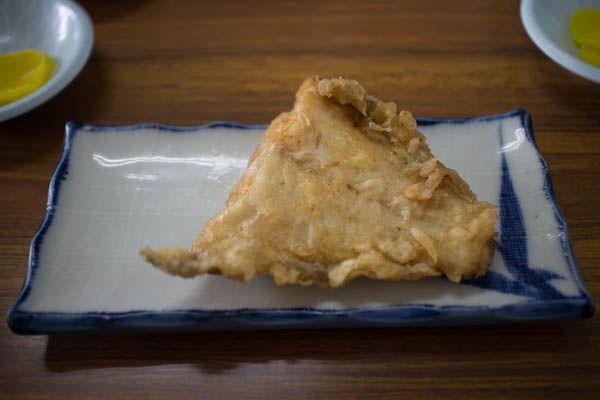 マルトマ丼カレーの唐揚げ