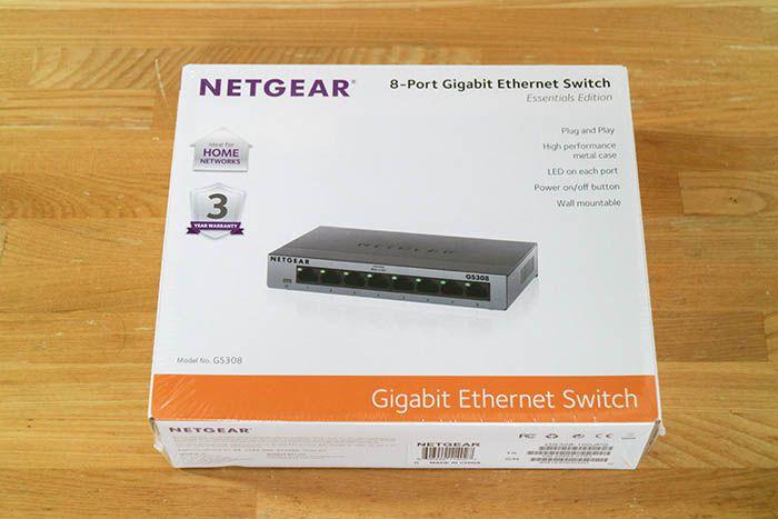 NETGEAR GS308 外箱