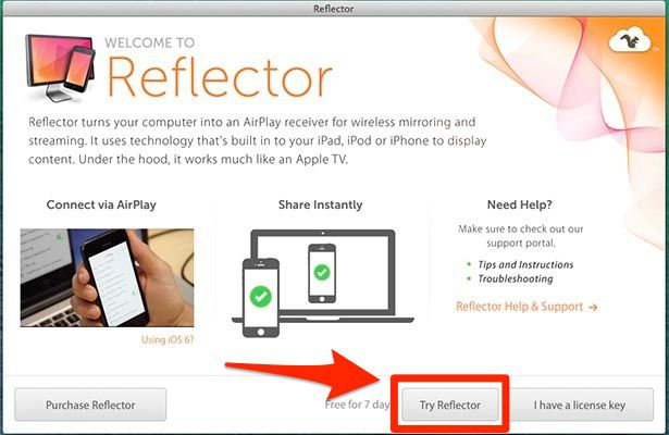 Try Reflector