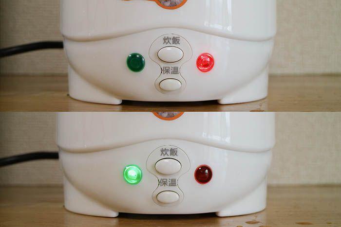 電源ランプ