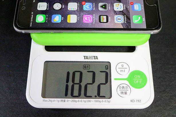 iPhone6plusの重さ
