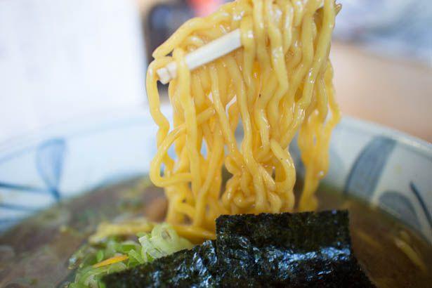 桃福ラーメン 麺