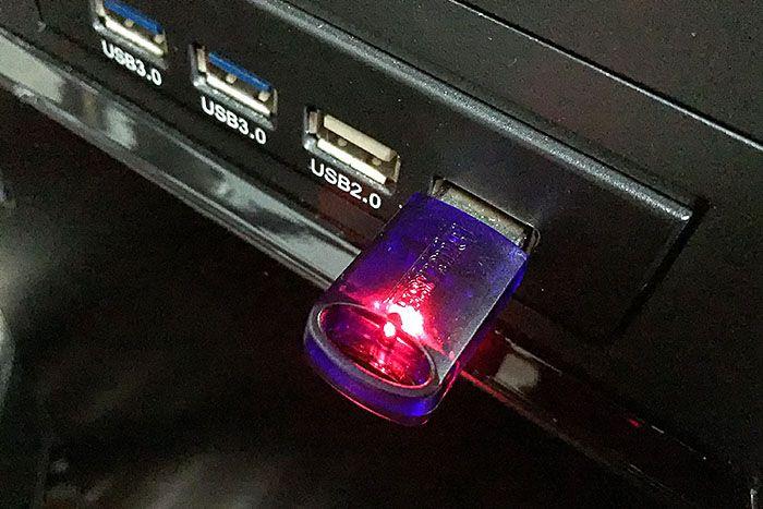 USB_elicenser 点灯