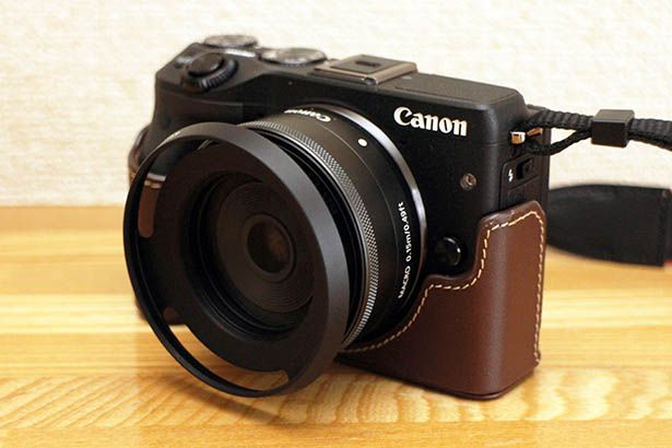 EOS M3 メタルフード